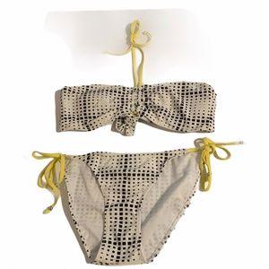 Plunge Swimwear 2 Piece Bikini #IG4980 Sz MD NWOT